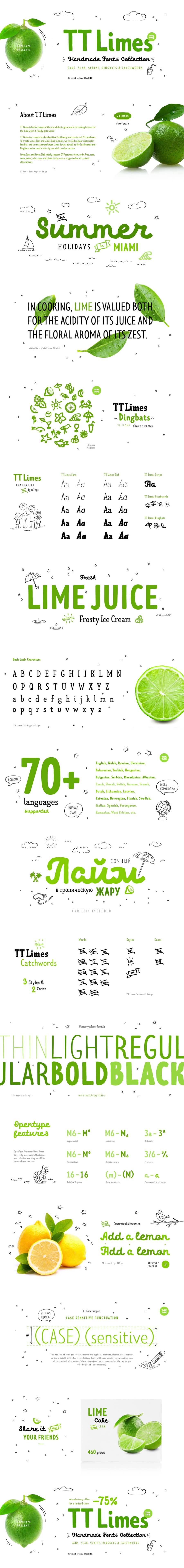 TT Limes Demo Typeface Free