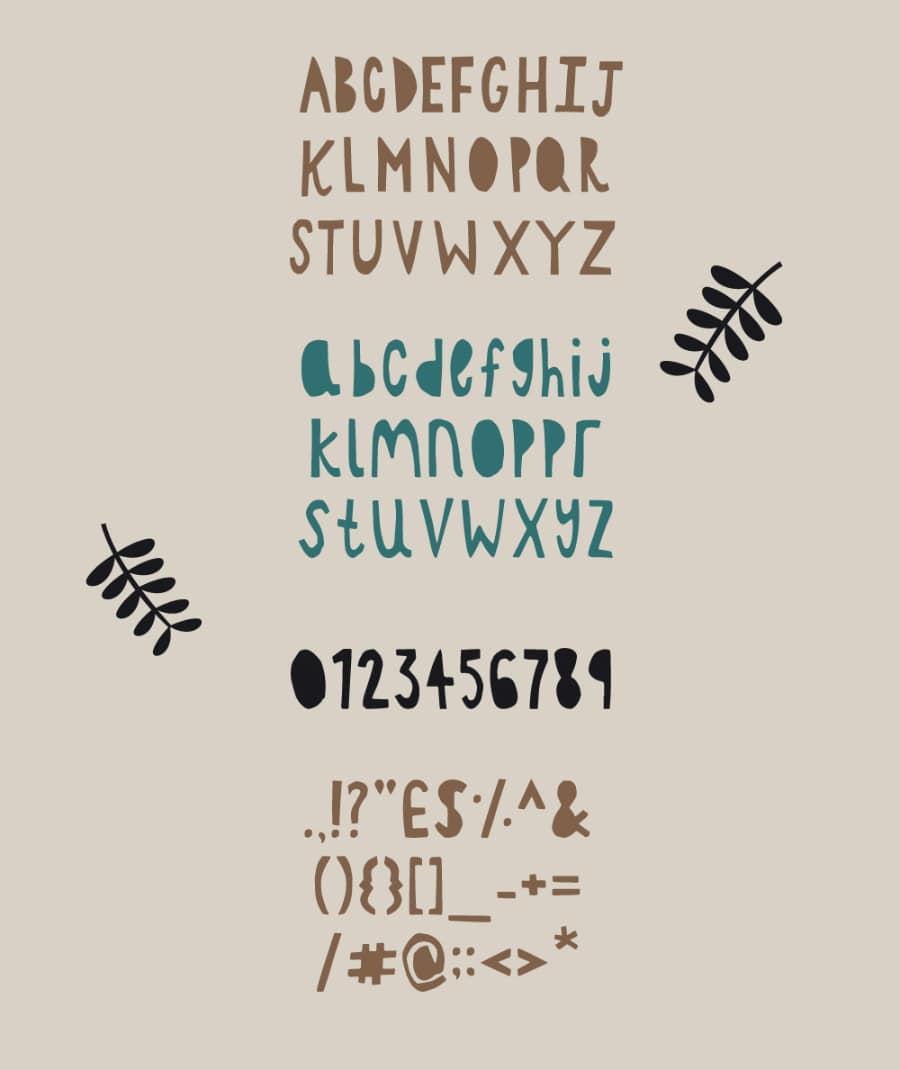 Paper Cutout Free Typeface