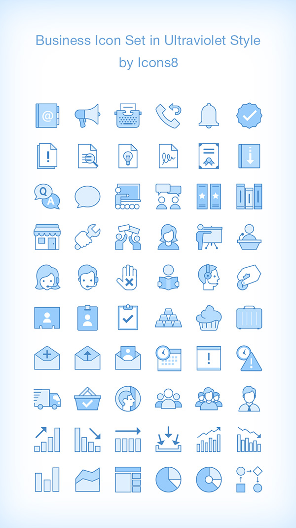 60 Free Business Icons
