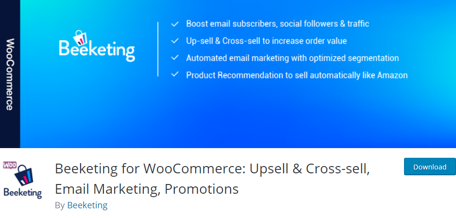 Beeketing for WooCommerce - Must Have Woocommerce Plugins