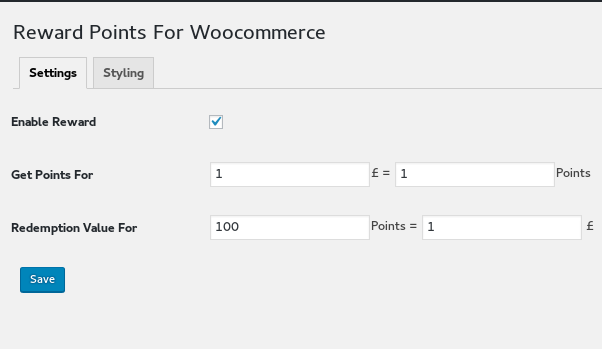 Reward Points for Woocommerce