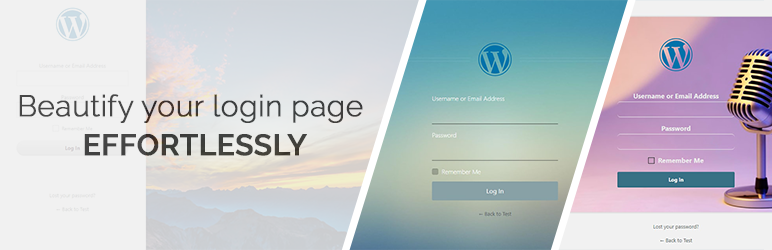Custom Login Page Customizer   admin login, client login and forgot password forms/pages