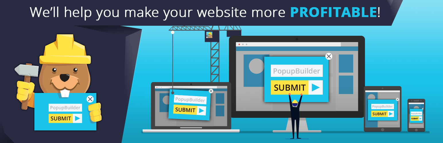 Popup Builder – Create highly converting, mobile friendly marketing popups.