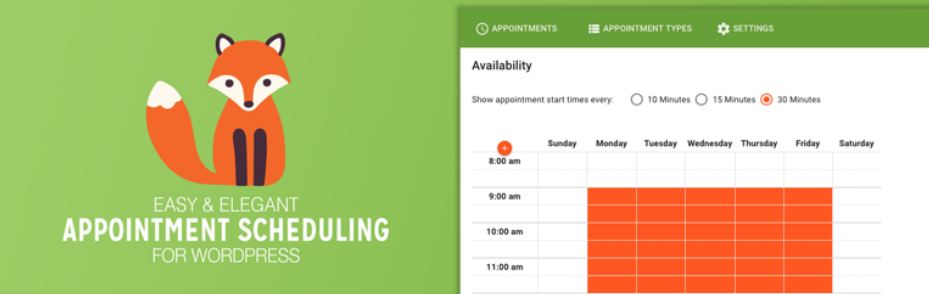 Simply Schedule Appointments – Booking Calendar