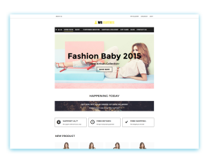 WS Clothes WooCommerce Wordpress theme