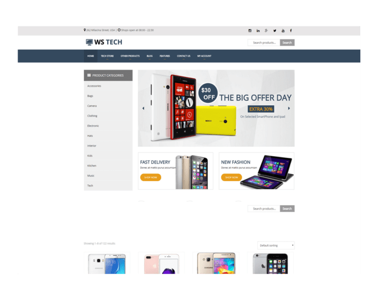ws-tech-free-responsive-woocommerce-wordpress-theme