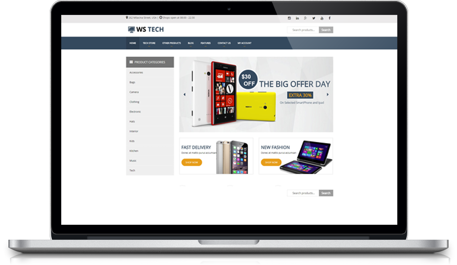 ws-tech-free-responsive-woocommerce-wordpress-theme-desktop