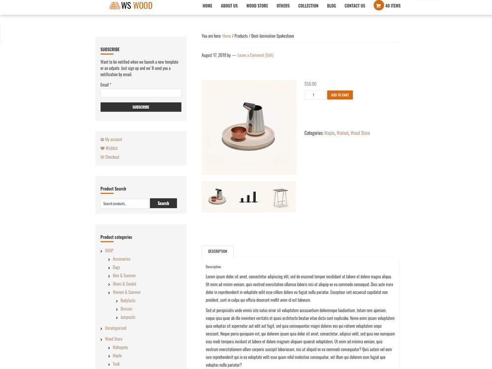 ws-wood-free-wordpress-theme-product-detail