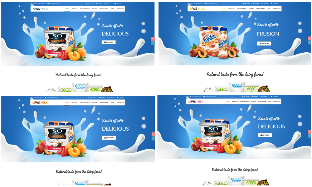 ws-milk-free-responsive-wordpress-theme-preset