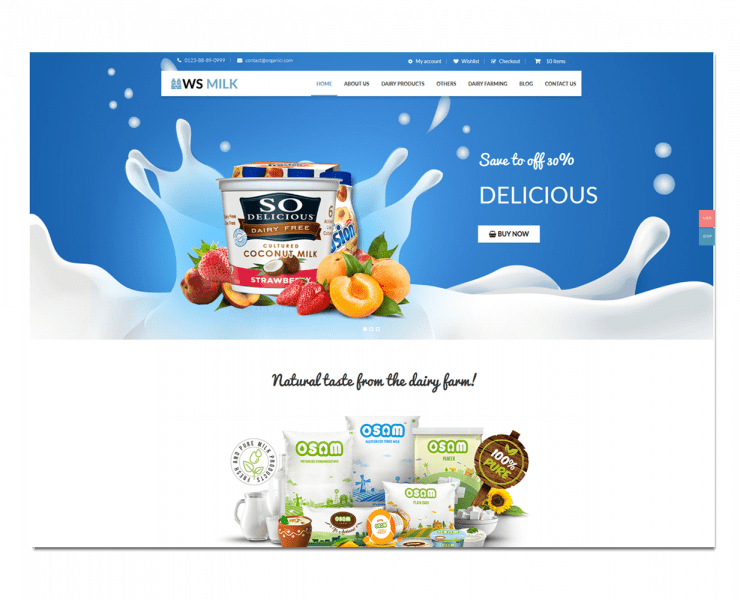 ws-milk-free-responsive-wordpress-theme-screen